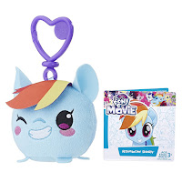 MLP the Movie Rainbow Dash Clip and Go Keychain Plush