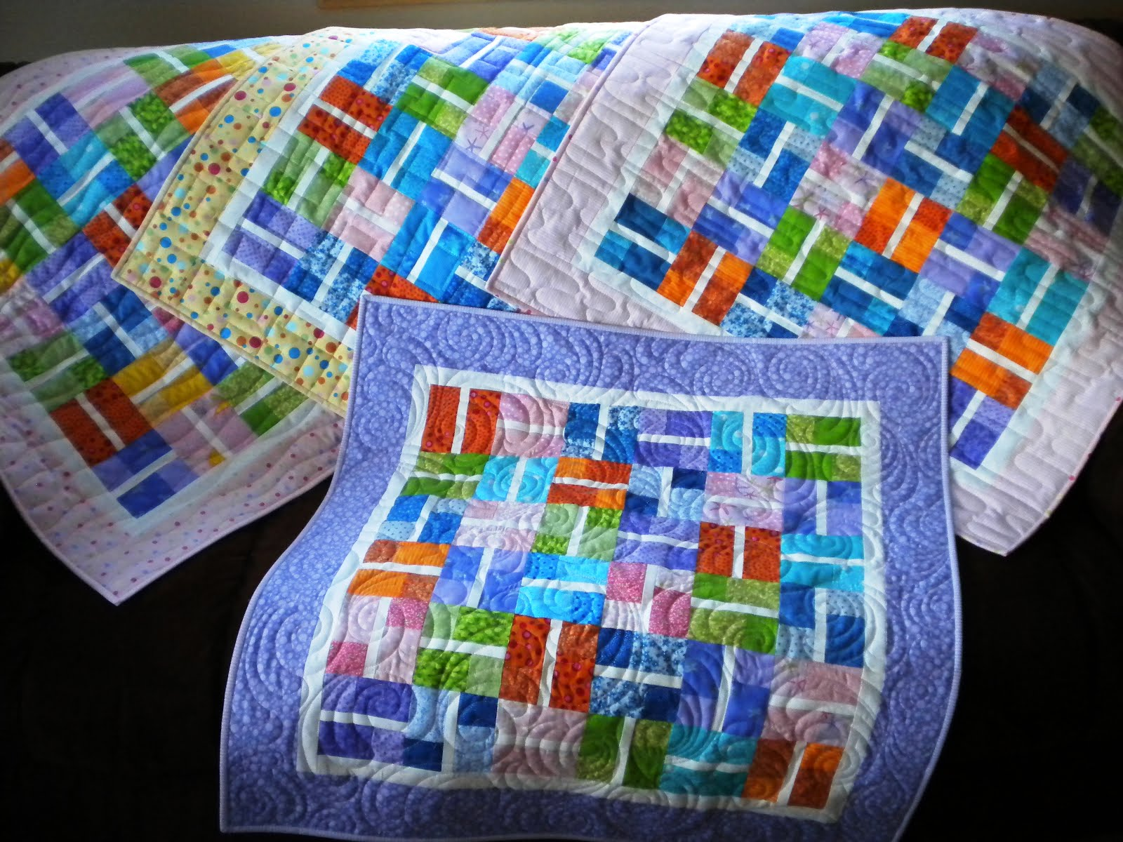 Vicki S Crafts And Quilting Four Finishes For Friday