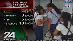 """The bill proposing 10 year validity of passport has already been approved in the Senate and now awaiting approval or signature from the President. However, according to DFA, once implemented, the cost of the passport will also increase. Currently, applicants in the Philippines have to pay P 950 for passports with 5 year validity. This will then be increased to P 1,900 to P 2,000 for 10 year validity passport. The reason for the increase in passport fee, materials will be changed and has to be durable enough to last for 10 years. The pages will also be increased. """"Definitely, the materials will change. The materials are, of course, a bit more expensive because we want the booklet to be durable enough to last 10 years,"""" said Ricarte Abejuela, DFA Office of Consular Affairs Passport Director. """"We're also going to increase the number of pages so definitely there are corresponding increases in cost as well,"""" he added. Those who are 18 years old and below cannot also avail the passport with 10 year validity. Children 0-3 years old will have 3 year validity passport Children ages 4- 18 years old will have 5 year validity passport Only adults aging 18 year above are the only ones that can have 10 year validity passport. 10 years passport validity, E-Passport, Getting Philippine Passport"""