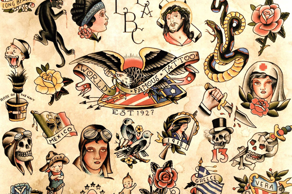 Vintage Tattoo Flash Art 53
