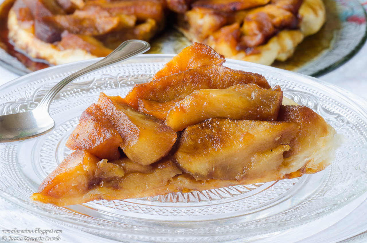 Ven A La Cocina Tarta Invertida De Manzanas O Tatin De Manzanas