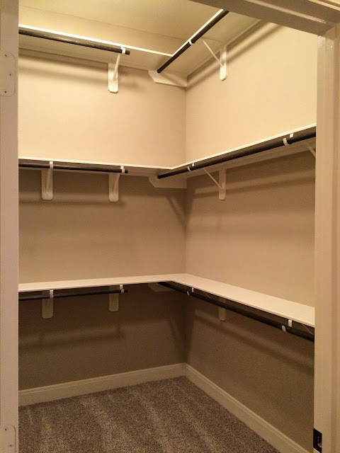 Additional Top Rack for Closet