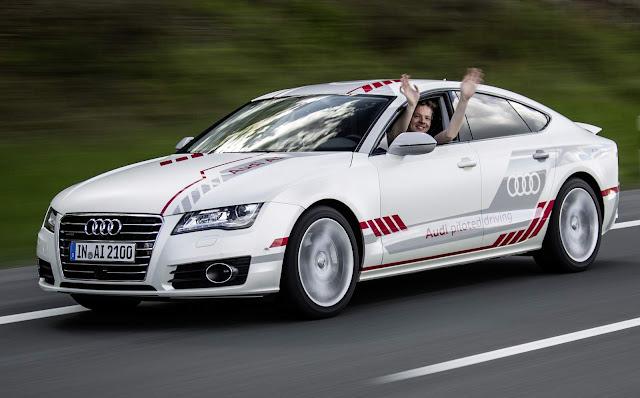 Audi testa tecnologias avançadas de condução autônoma