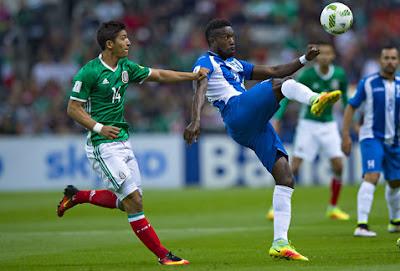 En su partido más reciente Honduras empató a cero goles con México en el Estadio Azteca, lo que le permitió clasificar a la Hexagonal Final de las Eliminatorias Concacaf Rusia 2018