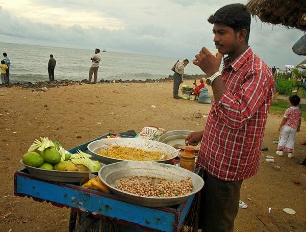 Street snack from Puducherry