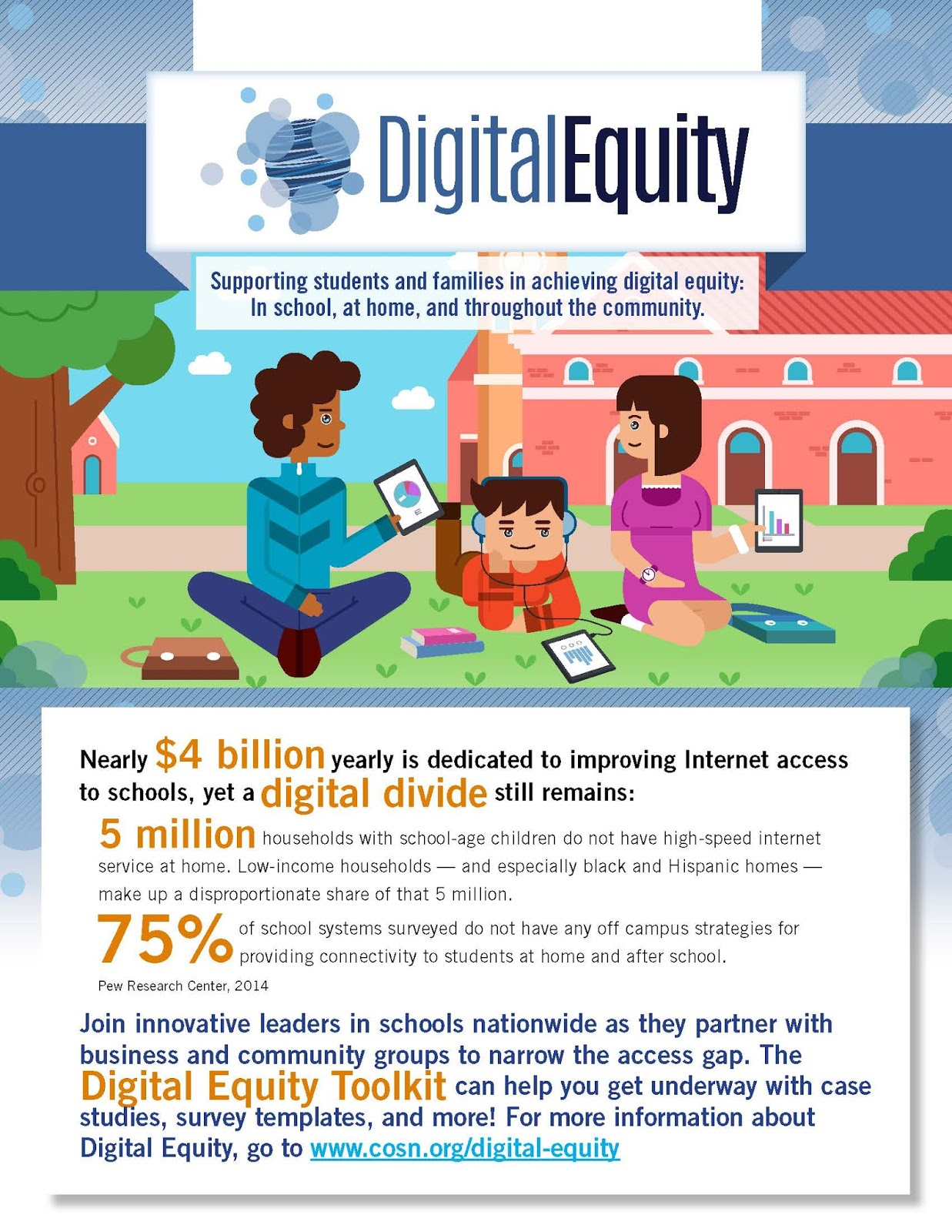 digital equity Recent research on digital media use points to two important gaps in educational opportunity for low-income families with young children first, there is an access gap.