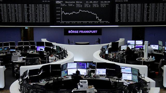 """""""Sin precedentes"""": Las bolsas europeas se tiñen de rojo tras el lanzamiento de misil de Pionyang"""