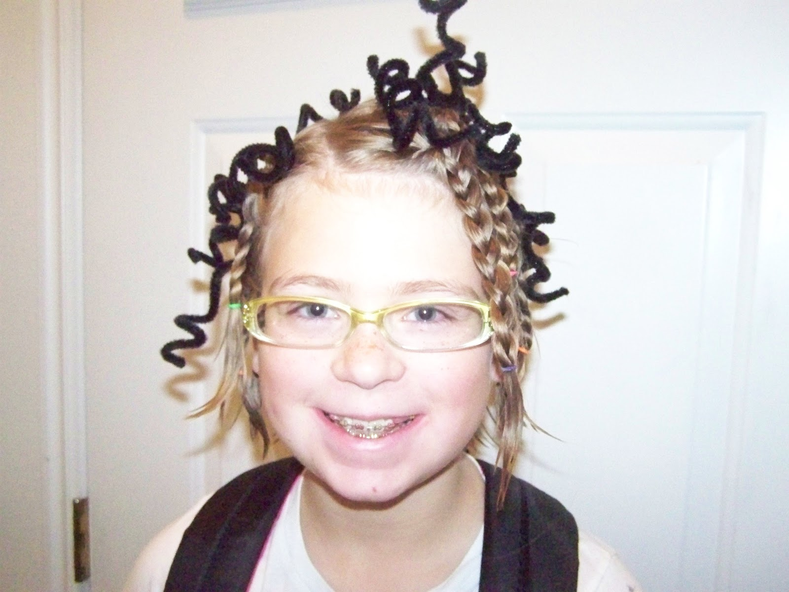 A To Z For Moms Like Me Crazy Hair Day