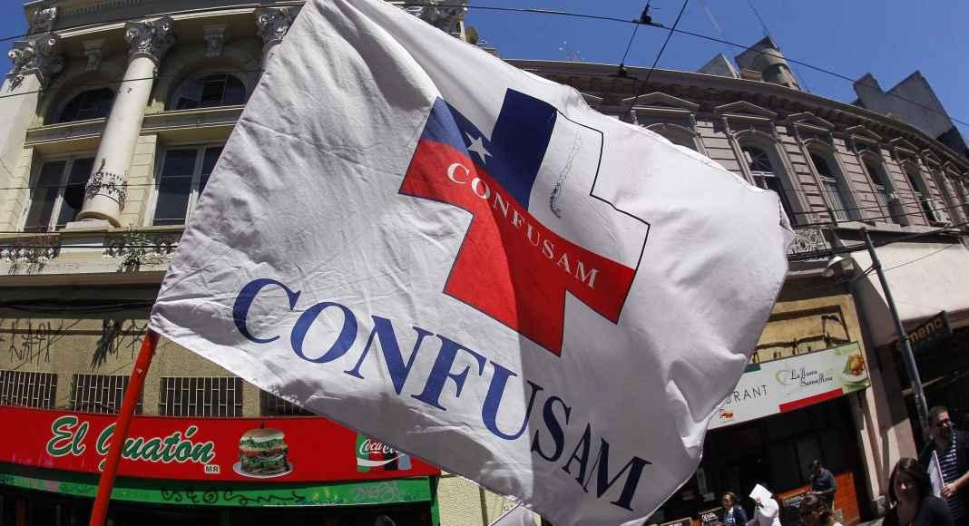 Confusam convocó a paro nacional — Salud municipal