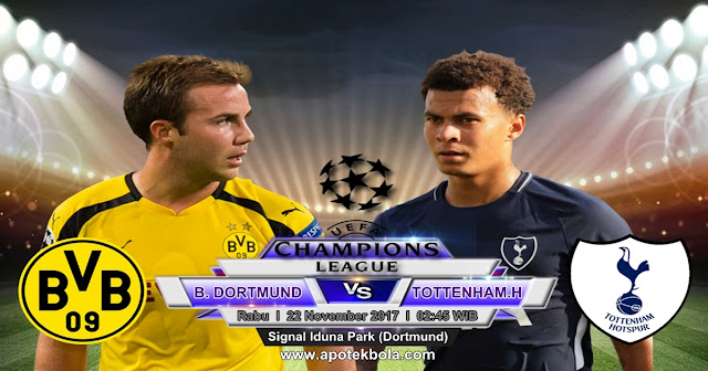 Prediksi Borrusia Dortmund vs Tottenham Hotspur 22 November 2017