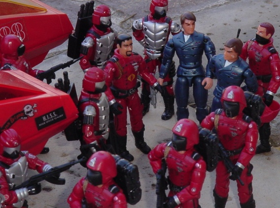 2003 Agent Faces Crimson Guard Disguise, Mail Away, 2005 Crimson Guard, Tomax and Xamot, Crimson Hiss, Sears Exclusive SMS, Crimson Guard Immortal