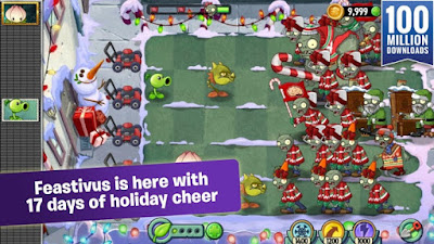 strategy adventure offered by ELECTRONIC ARTS with over  Plants vs Zombies 2 MOD APK + DATA Full Android