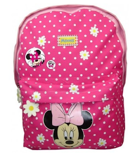 Ghiozdan cu Minnie Mouse pentru gradinita -fete se poate achizitiona online aici