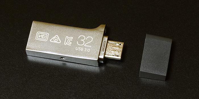 サムスン製USBメモリ「SAMSUNG DUO(32GB)」を使用した感想レビュー