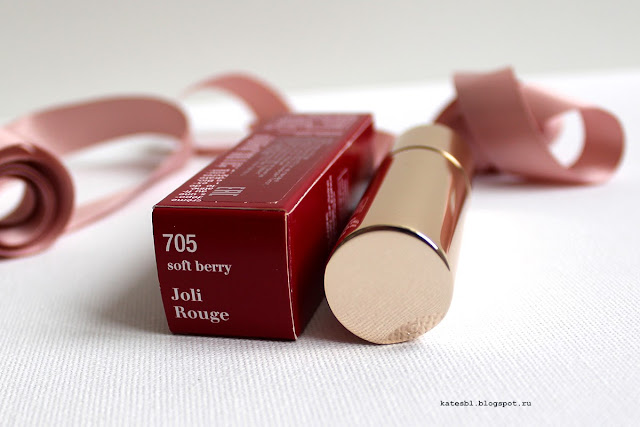 Clarins Joli Rouge 705 Soft Berry