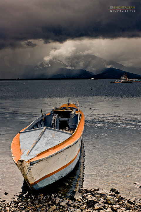 Stormy weather at Puerto Princesa Palawan
