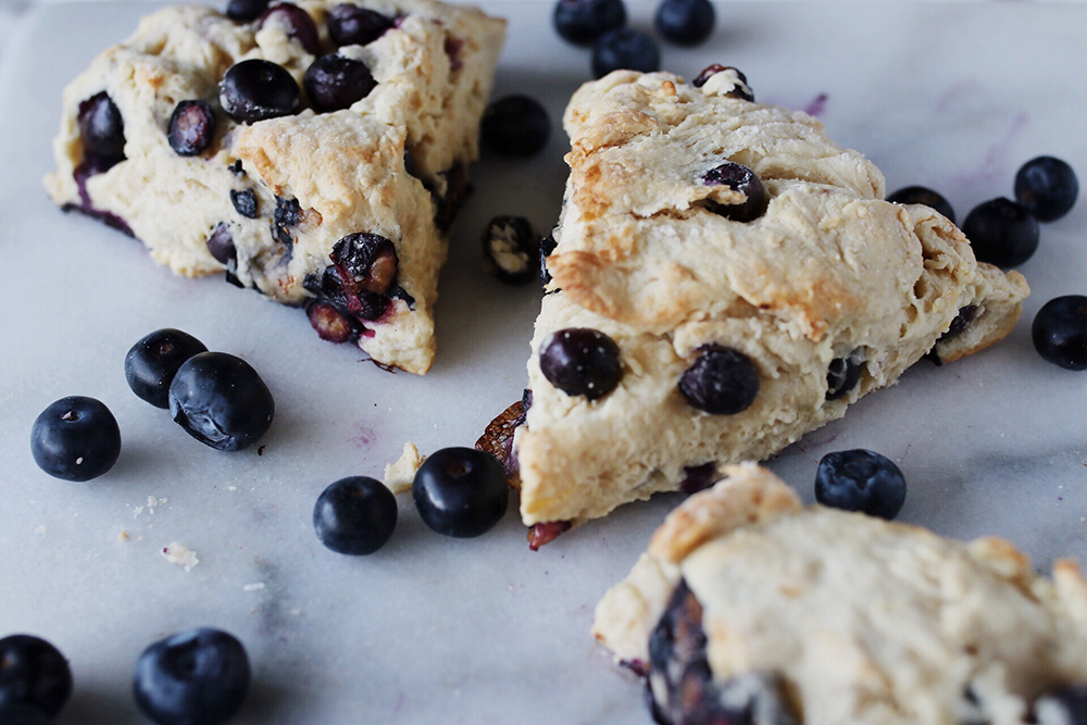 Food File: Dairy-Free Easy Blueberry Scones Recipe