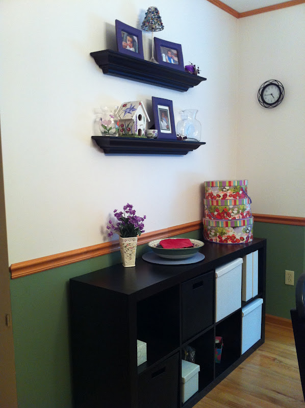 Internal Knock Through Between Kitchen And Dining Room: A Productive Endeavor: Organized Dining Room
