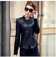 jaket kulit wanita model terbaru