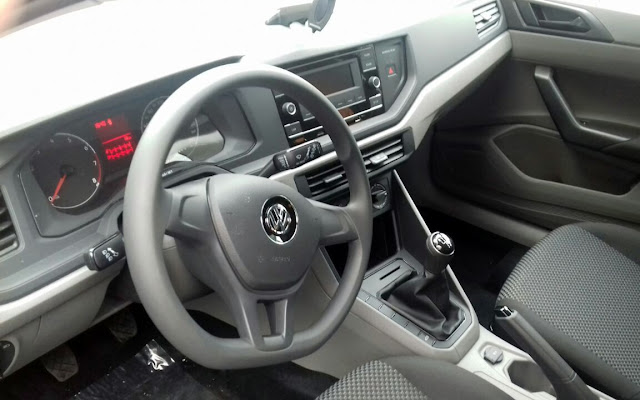 VW Polo 1.0 MPI 2018 - interior