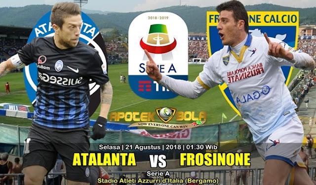 Prediksi Atalanta Vs Frosinone 21 Agustus 2018