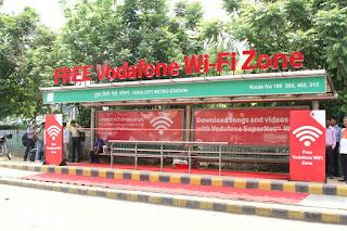 Vodafone Wi Fi Bus Shelter