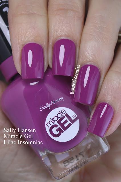sally hansen lilac insomniac