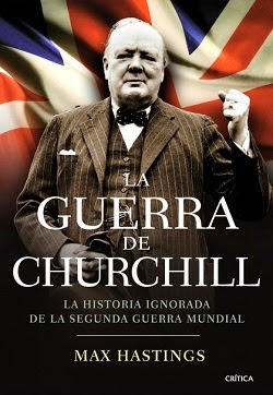 Portada de La guerra de Churchill