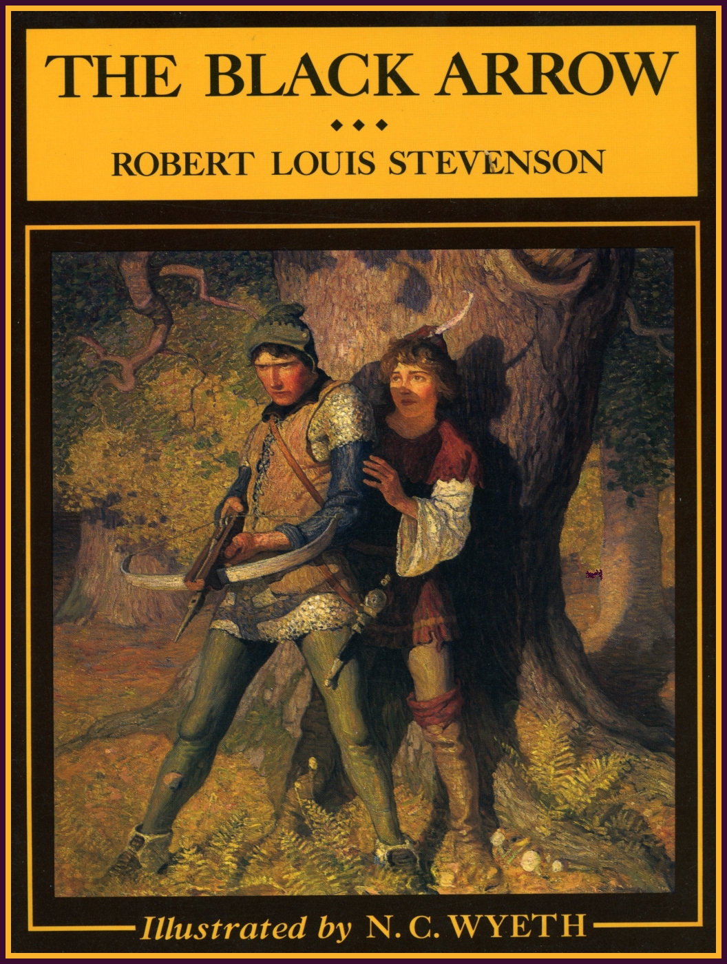 N C Wyeth The Black Arrow By Robert Louis Stevenson