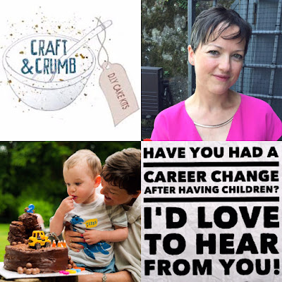 Louise from craft and crumb for the Children Changing Careers series