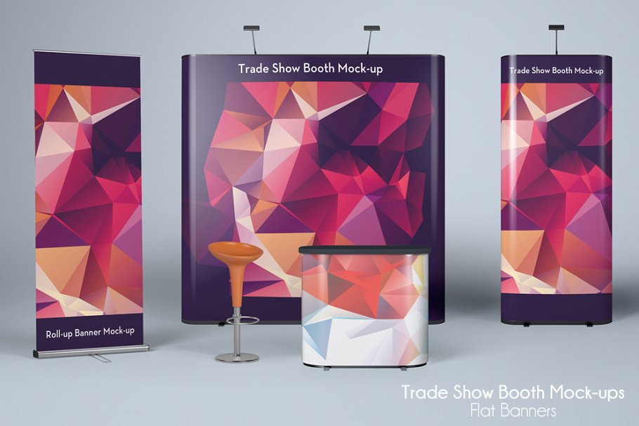 280+ Best Trade Show Booth Mockup Templates | Free & Premium