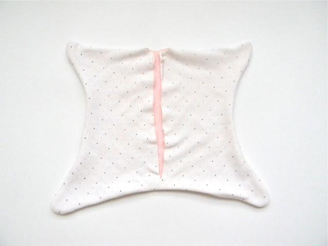 """""""Спуша"""" - вальдорфская подушка-игрушка, МК + выкройка, как сшить подушку для малыша,"""
