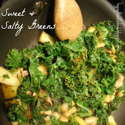 Summer Recipe : Sweet & Salty Greens