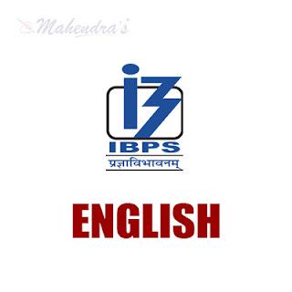 English Language For IBPS PO Mains & Clerk | 20 - 11 - 17