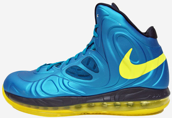 fecb3a428d4 Nike Air Max Hyperposite Tropical Teal Sonic Yellow-Blueprint August 2013