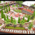 Ini Desain Taman Kirab yang Sementara Dibangun di Sudut Masjid Agung Palopo