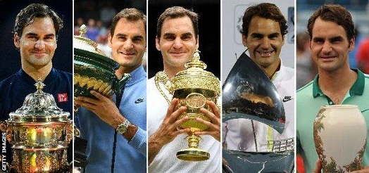 Roger Federer on 2nd in List, Compare the All-Time Most Men's singles titles wins in Tennis History.