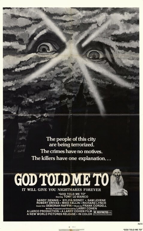 Resultat d'imatges de Demon, God told me to (1975)