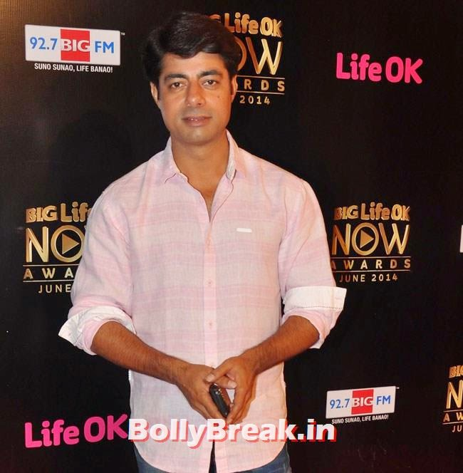 Sushant Singh, Life OK Now Awards 2014 Red Carpet Pics