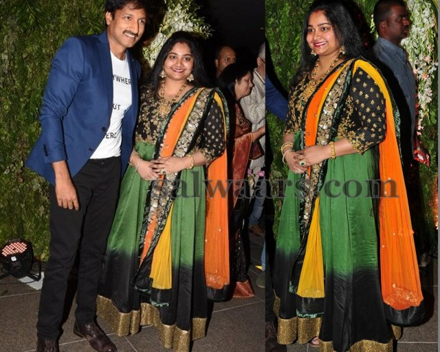 Gopichand wife at Srija Wedding