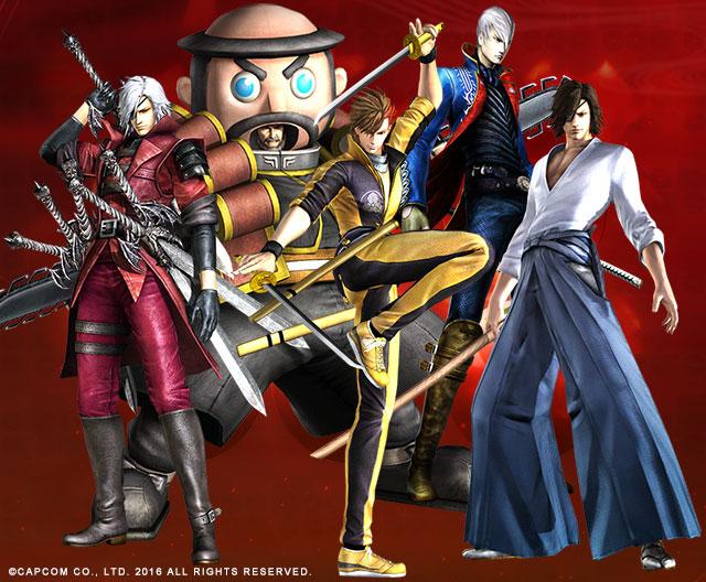 「戦国BASARA」シリーズ作品にダウンロードコンテンツとして登場した衣装