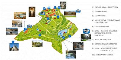 Mappa Parco Termale del Garda