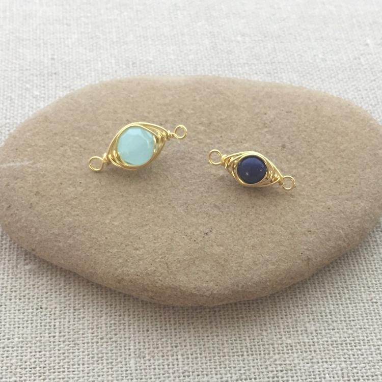 Lisa Yang\'s Jewelry Blog: Free Herringbone Wire Wrap Link Tutorial