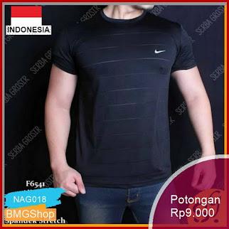 NAG018 Baju Kaos Pria Nike Sport Gym Fitness Murah Bmgshop