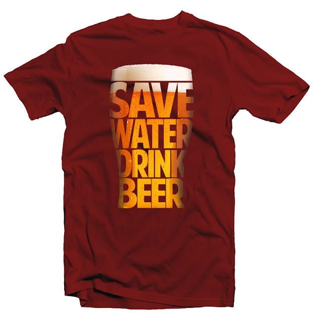 beer tshirt design