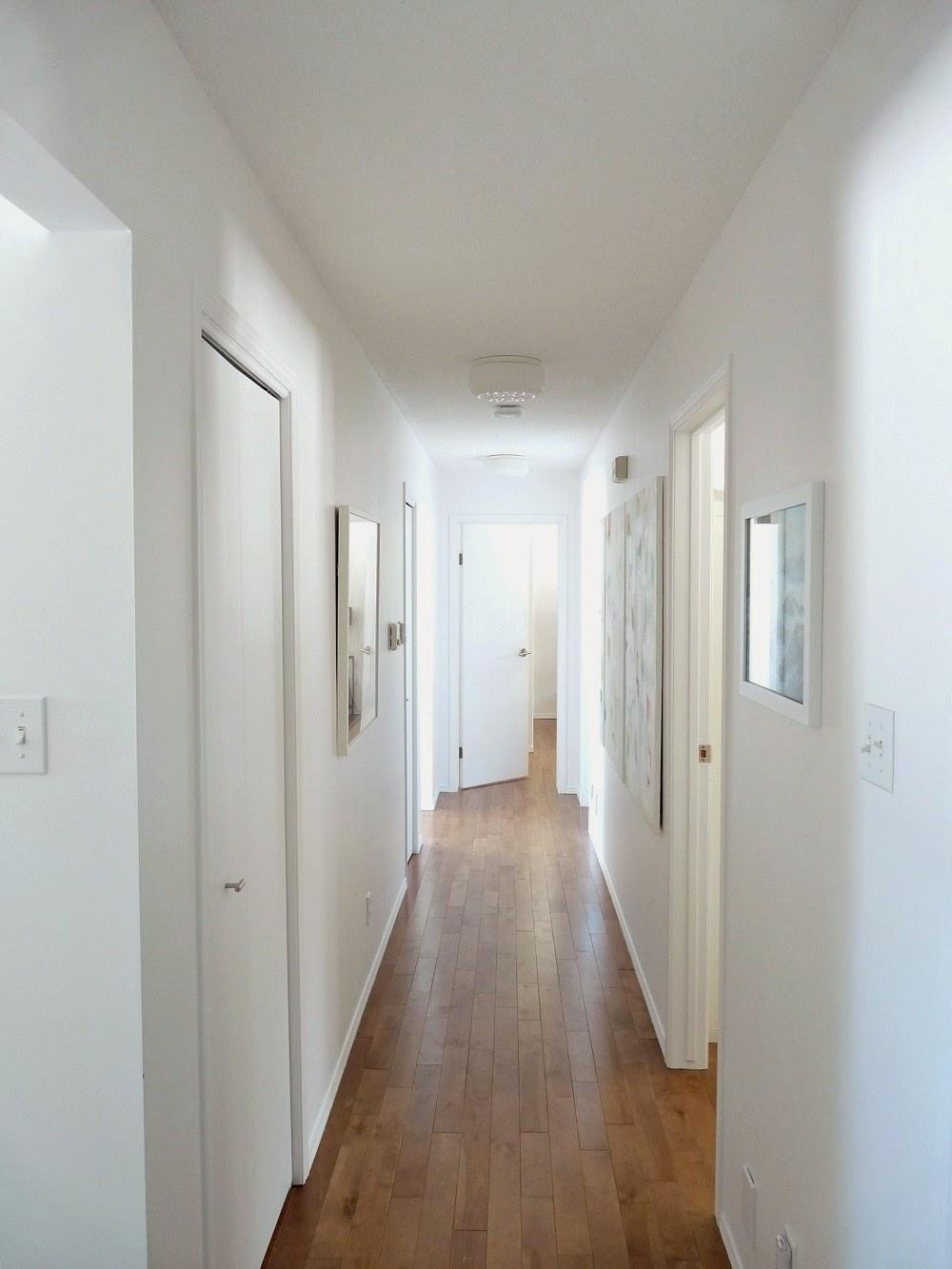 Narrow Entryway Makeover