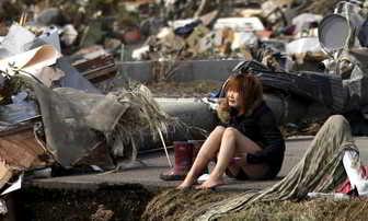 Sobreviviente de un tsunami
