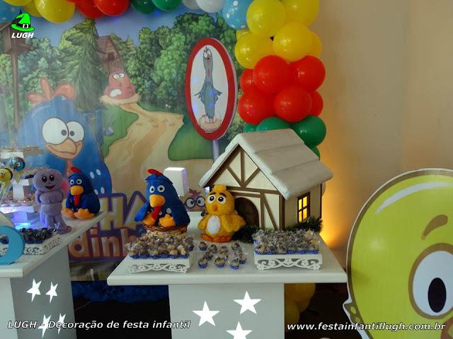 Ornamentação de festa infantil tema Galinha Pintadinha