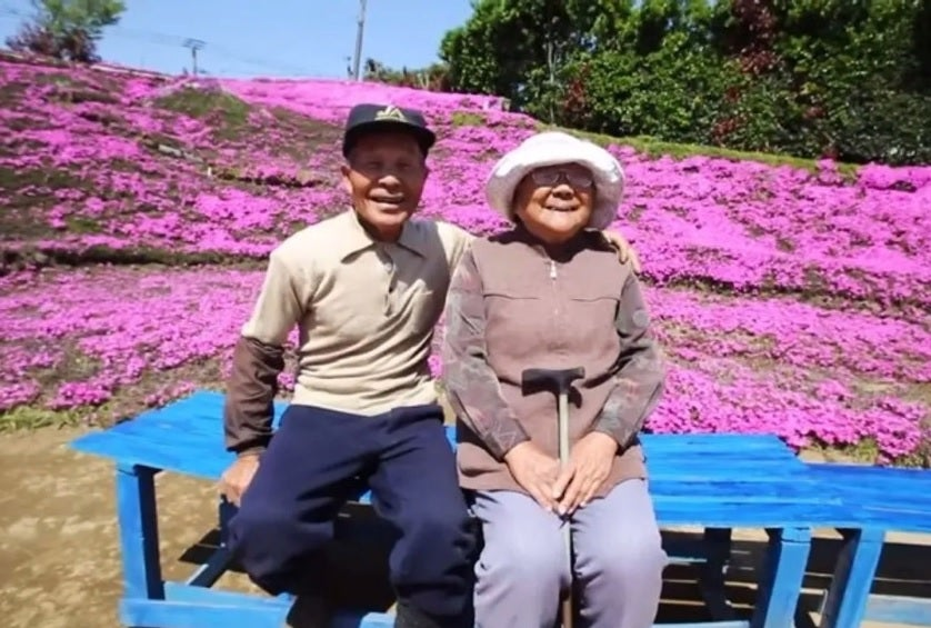 Man Has Been Planting Flowers For Years For His Blind Wife To Smell