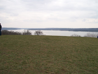 Potomac River, viewed from the colonnade at Mount Vernon.